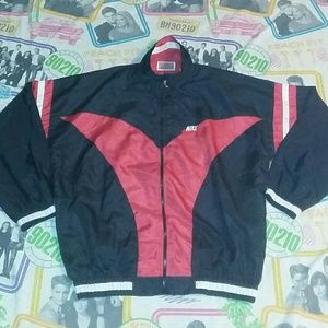 80s Nike Sports Track Running Fitness Jacket